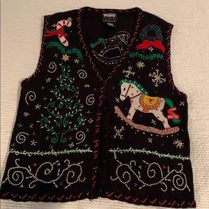 Designers originals vintage Christmas Vest 🎁🌲